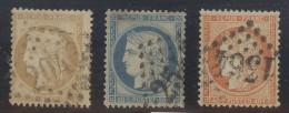 France Yvert 36/38 TB Sans Défaut Cote EUR 137 - 1870 Siège De Paris