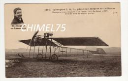 Monoplan J A L  Jacques De LAIHACAR - Aviatori