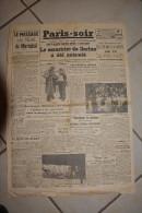 PARIS-SOIR -28 decembre 1942-meurtrier de Darlan a ete execute 24H apres l�assassinat