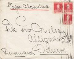 "Argentina ""Vesper Alcontiener"" ROGARIO 1928 Cover Letra To ODENSE Denmark Dinamarca San Martin Stamps - Argentinien"