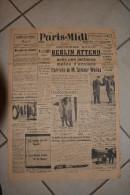 PARIS-MIDI-29 fevrier 1940-Berlin attend l'arrivee de Summer Welles