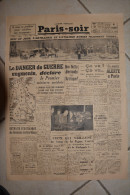 PARIS-SOIR-28 fevrier 1940-nuit et jour l'artillerie et aviation russes pilonnent Viborg