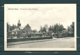 MOERBEKE-WAAS: Kruisstraat Kerk En Pastorij,  Niet Gelopen Postkaart  (GA15155) - Moerbeke-Waas