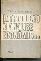 """INTRODUCAO A ANALISE ECONOMICA II"" DE PAUL A. SAMUELSON-EDIT.AGIR-AÑO 1970-PAG.1214-USADO-GECKO . - Schulbücher"