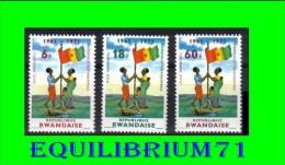 461/463** R�f�rendum Kamarampaka (1961-1971) - RWANDA