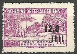 ALGERIE COLIS POST YVERT  N� 175 / MAURY N� 185b SANS CONTROLE DES RECETTES  NEUF** TB / MNH