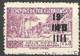 ALGERIE COLIS POST YVERT  N� 199 / MAURY N� 214   NEUF** TB / MNH