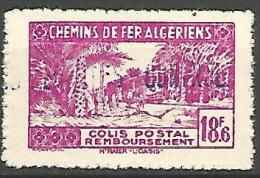 ALGERIE COLIS POST YVERT  N� 157 / MAURY N� 171   NEUF** TB / MNH