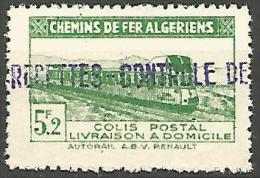 ALGERIE COLIS POST YVERT  N� 151 / MAURY N� 165   NEUF** TB / MNH