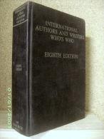 INTERNATIONAL AUTHORS WRITERS WHO´S WHO Annuaire Généalogie Auteur Ecrivain Litterature 1977 ! - Généalogies