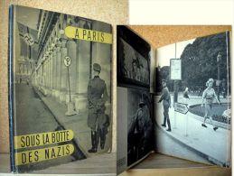 PARIS SOUS LA BOTTE DES NAZIS Guerre Occupation Resistance Paris War Krieg WW2 Photo Photographie SCHALL DOISNEAU 1944 ! - War 1939-45
