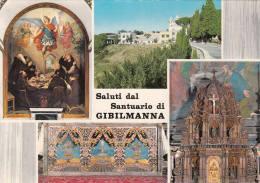 1970 CIRCA SALUTI DAL SANTUARIO DI GIBILMANNA - Italia
