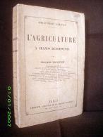 """""""L´AGRICULTURE à GRANDS RENDEMENTS"""" Edouard LECOUTEUX Agronomie Horticulture Jardin MAISON RUSTIQUE 1ère Ed. 1892 Rare ! - Garden"""
