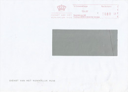 Netherlands Nederland 1997 Den Haag Koninklijk Huis Royal House Meter Franong EMA Cover - Period 1980-... (Beatrix)