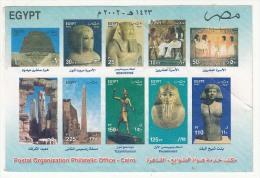 Dynasty, King Sesostris, Princes, Pyramid, Kamak Temple, Art, Architecture, Monument, 2002 Egypt  As Scan - Skulpturen