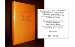 """La NUIT AMERICAINE"" Christopher FRANK Cinema Film (Prix RENAUDOT) 1ère Edition Numéroté SEUIL 1972 ! - Cinema/ Televisione"