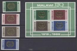 Malawi  1969  Complete Year  ***MNH Or * MVLH(light Trace) - Malawi (1964-...)