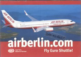 Boeing B737-800 Air Berlin Airlines B 737 Aereo B-737 Avion B.737 Aircraft Aviation Aiplane Air Berlin Airline Edition - 1946-....: Moderne