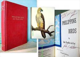 """PHILIPPINE BIRD John Eleuthere Du PONT (De Nemours) """"Foxcatcher"""" Oiseau Ornithology Ornithologie Envoi Signé Inscribed - Sciences Biologiques"""