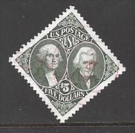 1994 $5.00 Washington & Jackson, used