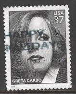 2005 37 cents Greta Garbo, used