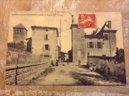 Saint Alban Du Rhône Entrée Du Village - France