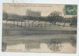 Chateauneuf-du-Faou (29)  : Le Château De Trévarez Vue De La Pièce D'eau En 1908 PF. - Châteauneuf-du-Faou