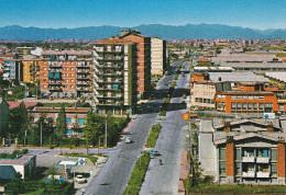 Cartolina CINISELLO BALSAMO (Milano) - Via Lincoln / Distributore Benzina / Benzinaio ARAL E SHELL - Cinisello Balsamo