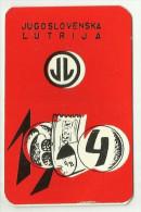 Calendars - Loto , Jugoslovenska Lutrija 1964