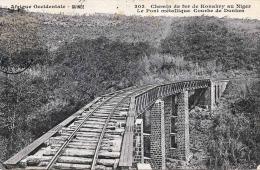 CHEMIN DE FER DE KONAKRY AU NIGER - Le Pont Metallique, Courbe De Dunkea - Niger