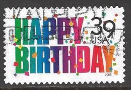 2006 39 cents Happy Birthday, used