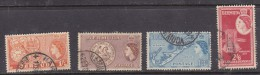 Bermuda: Elizabth II, 1952 1/3, 1/6, 2/=, 2/6 used