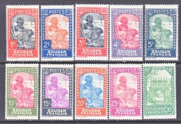 FRENCH  SUDAN  61-70     * - Sudan (1894-1902)
