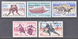 SENEGAL  202-6   *   (o)   SPORTS - Senegal (1960-...)