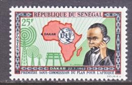 SENEGAL  210   **   I.T.U.  MAP - Senegal (1960-...)