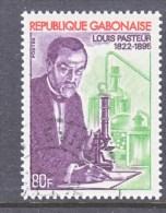 GABON  290   (o)  SCIENCE  LOUIS  PASTEUR - Gabon