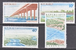 GABON  359-62    *  BRIDGES - Gabon