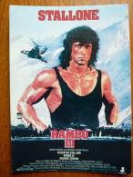 Etats Unis, Stallone, Rambo III - Unclassified