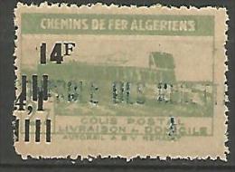 ALGERIE COLIS POST YVERT  N� 202 / MAURY N� 217   NEUF** TB / MNH