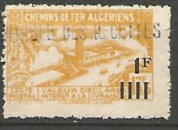 ALGERIE COLIS POST YVERT  N� 189A / MAURY N� 204   NEUF** TB / MNH