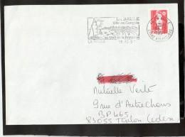 FLAMME PERM 44 LA BAULE - Mechanical Postmarks (Advertisement)