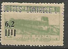 ALGERIE COLIS POST YVERT  N� 135  / MAURY N� 157  NEUF* TTB / MH