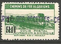 ALGERIE COLIS POST YVERT  N� 162  / MAURY N� 176  NEUF* TTB / MH