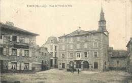 43 TENCE - Place De L'Hôtel De Ville - France