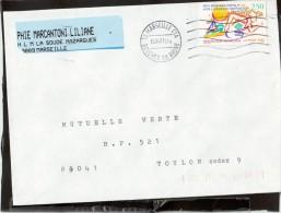 FLAMME  2795  13  MARSEILLE   CTA - Marcophilie (Lettres)