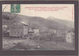 *Ariege - Castillon En Couserans - Ligne De Tramways électriques à Bordes Sur Lez  - éd Fauré - Autres Communes