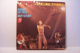 THE  ROLLING  STONES ---hand Of Fate -hot Stuff - Rock