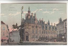 Antwerpen, Anvers, Nationale Bank En Standbeeld Leopold I (pk14330) - Antwerpen
