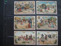 LIEBIG S 796 - SCENES DE LA VIE ESPAGNOLE - ARAGON - SEVILLE - MADRID - VALENCE - GRENADE - CORDOUE - Liebig