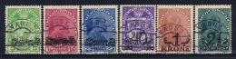 Liechtenstein: 1920 Mi 11-16 Used - Used Stamps